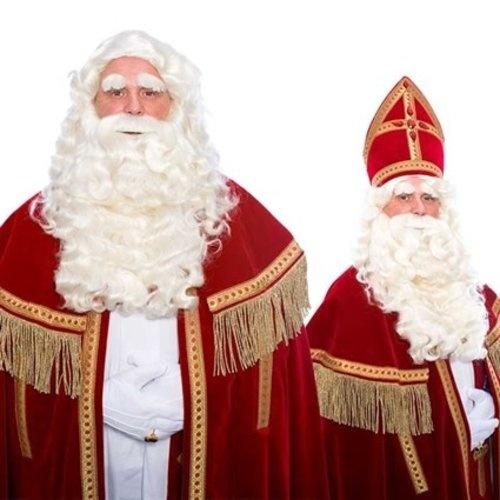 Pruiken, snorren & baarden voor de Sint!
