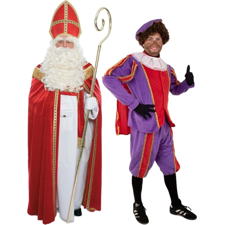 Verkleedkleding, accessoires & decoratie voor het Sinterklaasfeest!
