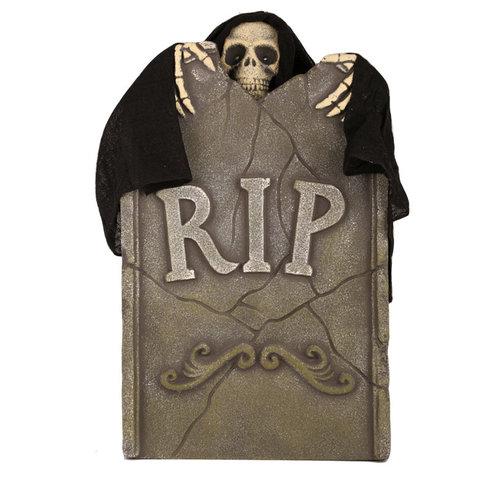 Deco 'Halloween' grafzerk die beweegt RIP