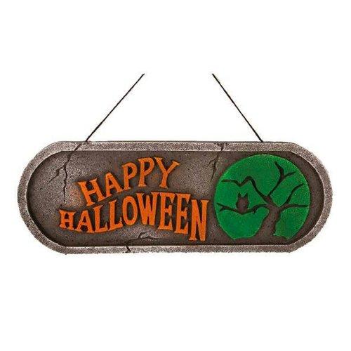 Deco bord 'Happy Halloween'