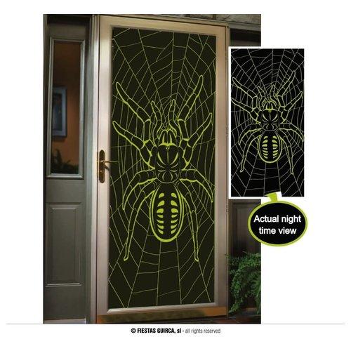 Deurposter 'Spider'