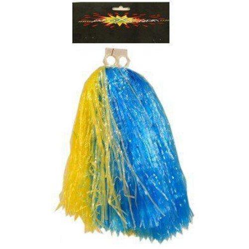 Cheerball ringgreep blauw/geel
