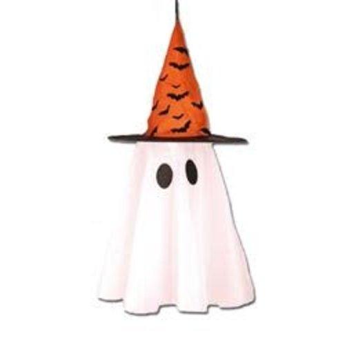 Deco 'Spook+hoed', 50cm