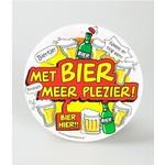 Paper Dreams Bierviltjes Met bier meer plezier per 6st