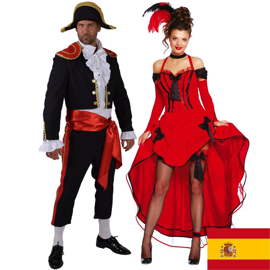 Spaanse kleding, accessoires & decorartie