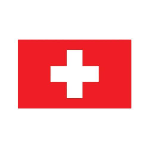 Vlag Zwitserland 90x150cm.