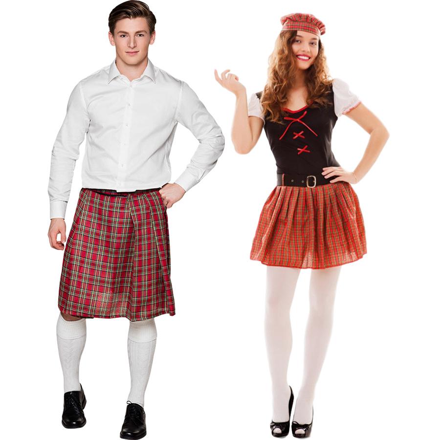 Schotse kleding, accessoires & decoratie