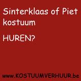 Sinterklaas of Piet kostuum huren