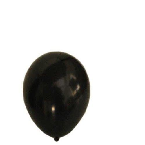Ballons helium 100x ZWART nr.10/27cm