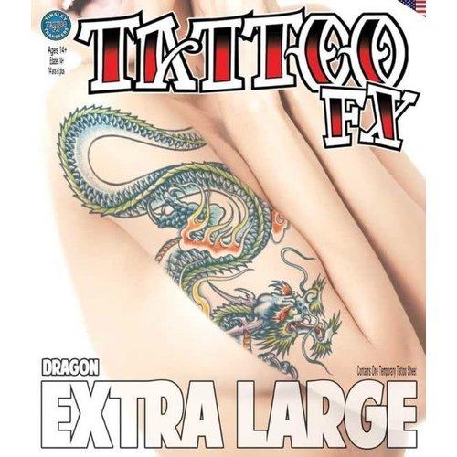 Body tattoo XL 'Draak'