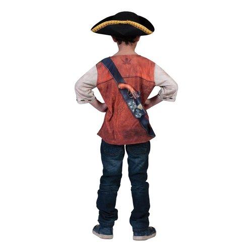 3D T-shirt 'Piraat'
