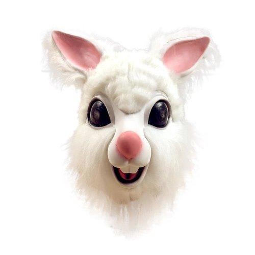 Bunny/Konijnen masker WIT