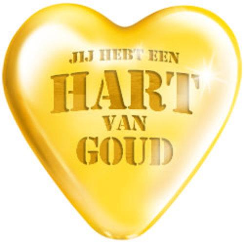 Big sign 'Jij hebt een hart van goud'