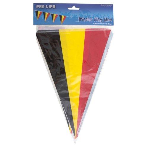 Vlaggenlijn België,5mtr/10 vlaggen