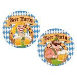 Bierviltjes 'Beer Party' dia. 10cm per 10st.