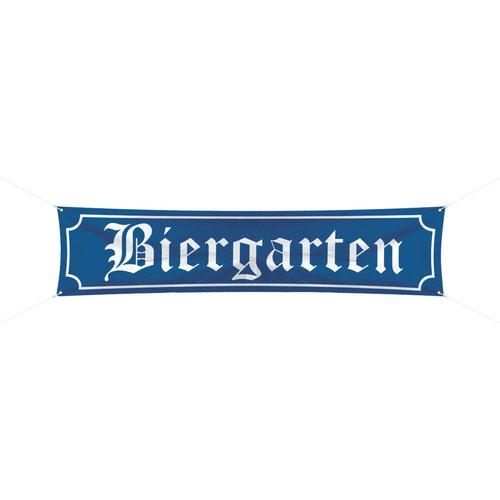 Banner 'Biergarten' 180cmx40