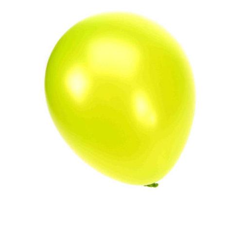 Ballon metallic appelgroen nr 14 per 50st