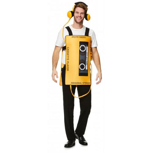 80's Cassette speler kostuum
