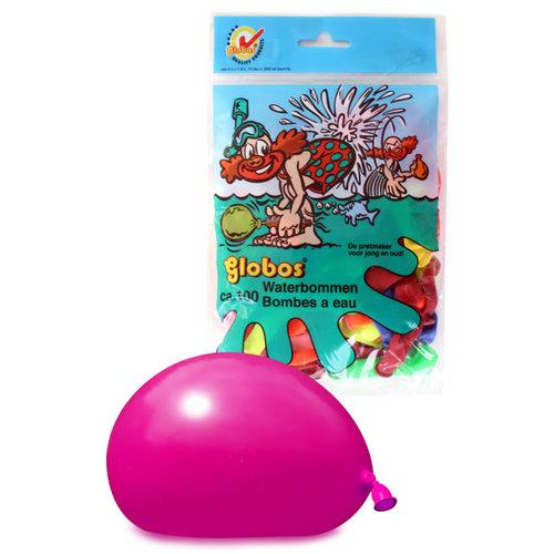 Ballonnen water, 3inch per 100st neon kleuren