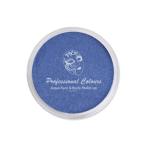 aquaschmink metallic blauw 18gr