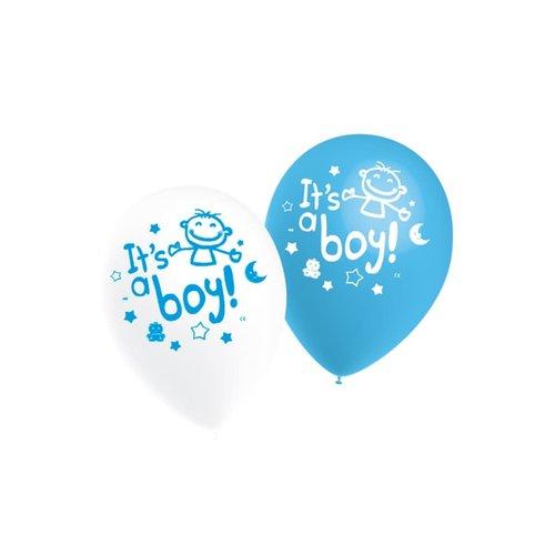 Ballons It's a Boy, 11inch/per 10st