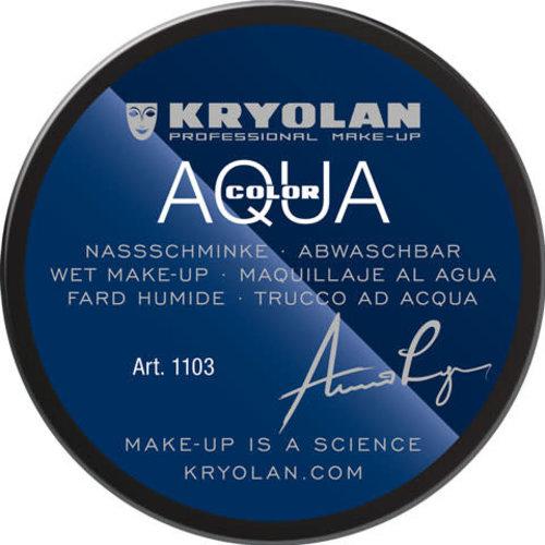 Aquacolor waterschmink 55ml kleur 071 ZWART
