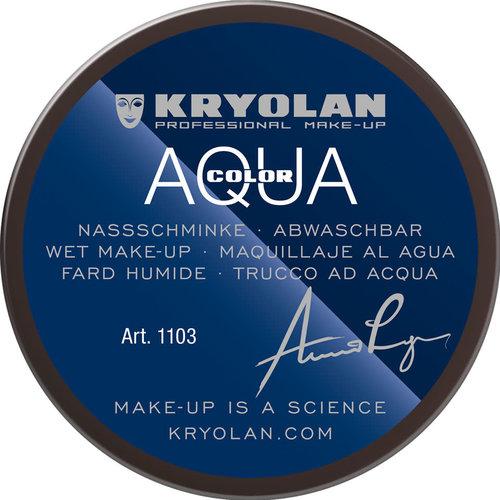 Aquacolor waterschmink 55ml kleur 102  donkerbruin (piet)
