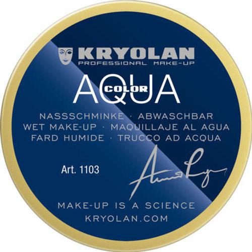 Aquacolor waterschmink 55 ml, kleur 523 flets geel