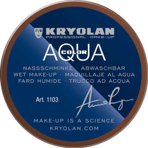 Aquacolor waterschmink 55ml kleur 503 bruin