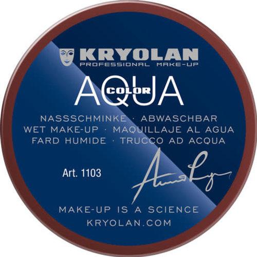 Aquacolor waterschmink 55ml kleur 086 bordeaux