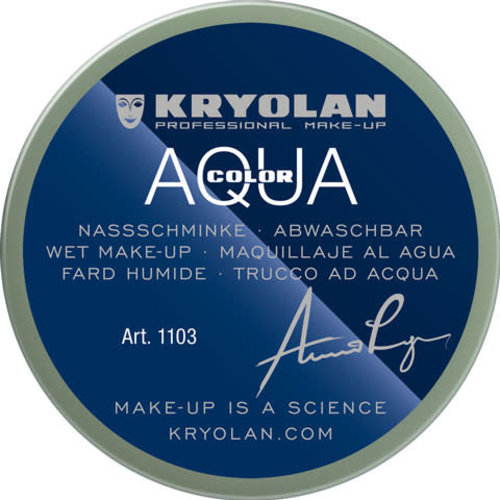 Aquacolor waterschmink 55ml kleur 092 kaki