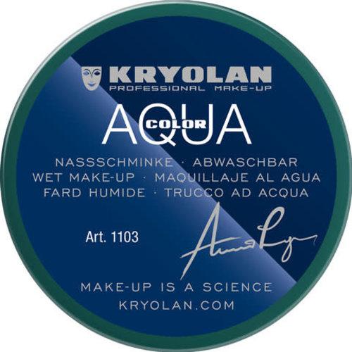 Aquacolor waterschmink 55ml kleur 096 groen
