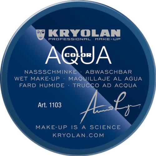 Aquacolor waterschmink 55ml kleur BL10 blauw