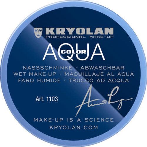Aquacolor waterschmink 55ml kleur G82 paarsblauw