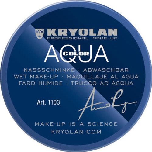 Aquacolor waterschmink 55ml kleur 091 blauw