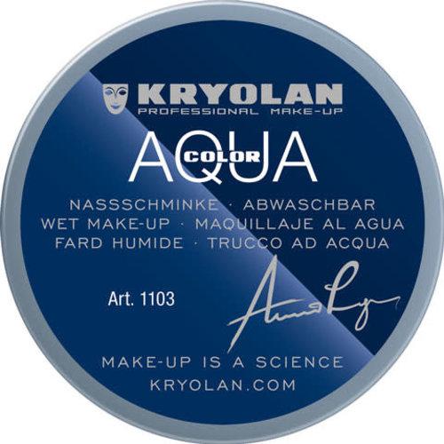 Aquacolor waterschmink 55ml kleur G83 blauw grijs