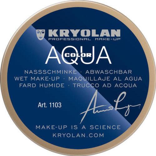 Aquacolor waterschmink 55ml kleur 521 beige