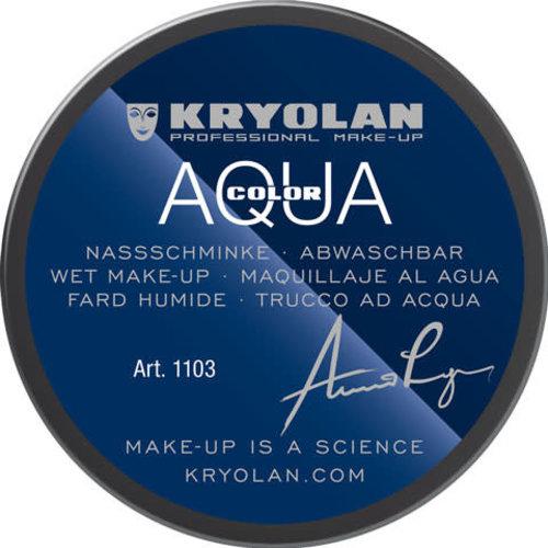 Aquacolor waterschmink 55ml kleur 517 donker grijs