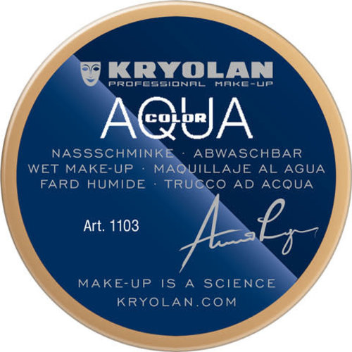 Aquacolor waterschmink 55 ml, kleur F52 Kaki