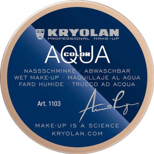 Aquacolor waterschmink 55 ml, kleur 406 licht roze