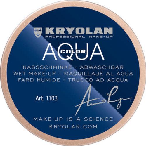 Aquacolor waterschmink 55 ml, kleur OA BRUIN GRIJS