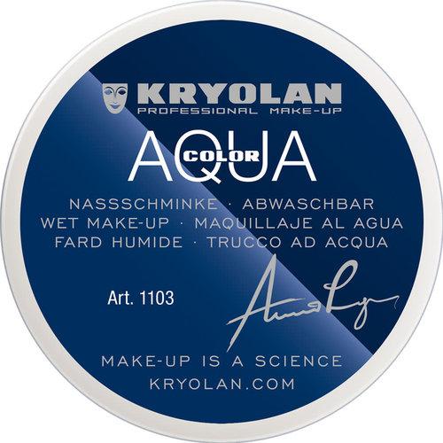 Aquacolor waterschmink 55ml 00 WIT