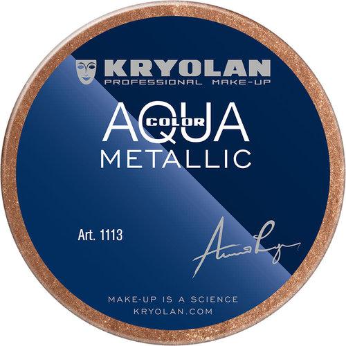 Aquacolor waterschmink metallic 55ml BRONZE