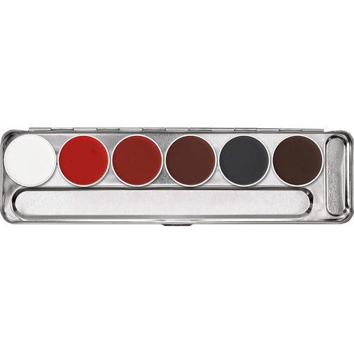 Aquacolor make-up pallet, 6 kl S