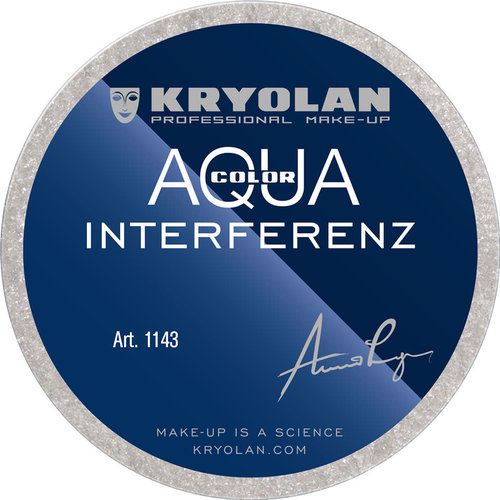 Aquacolor interferenz zilver, 55ml