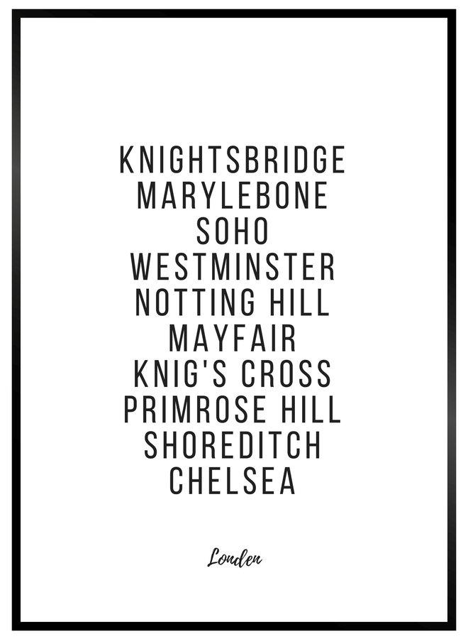Londen Poster