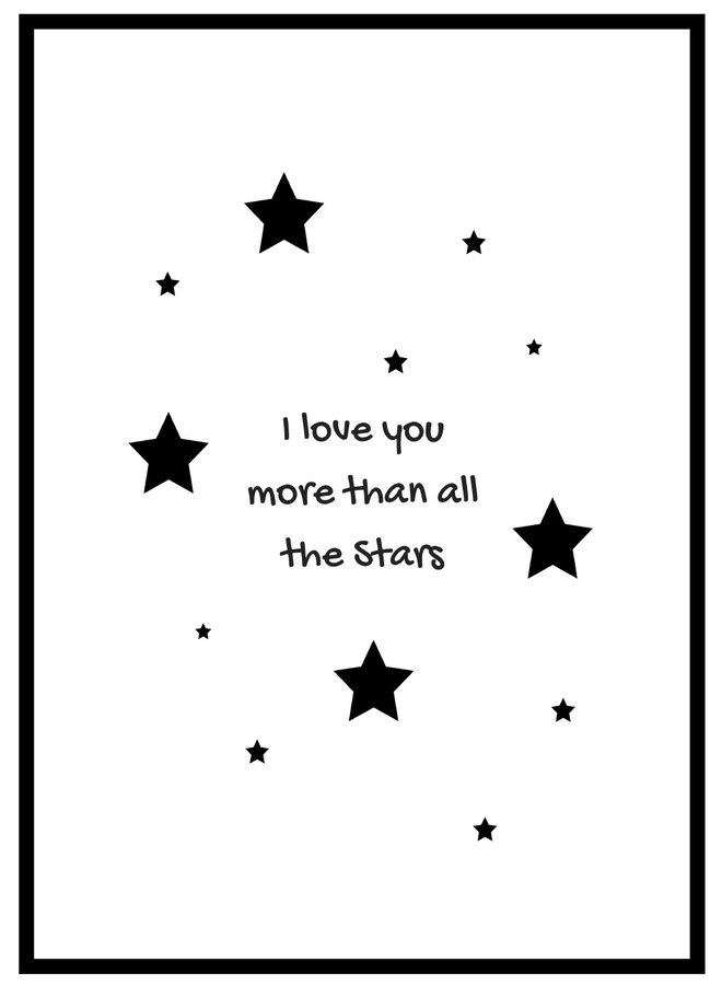 More Than All the Stars Poster
