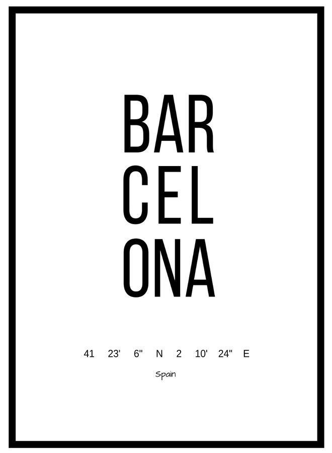 Poster Barcelona