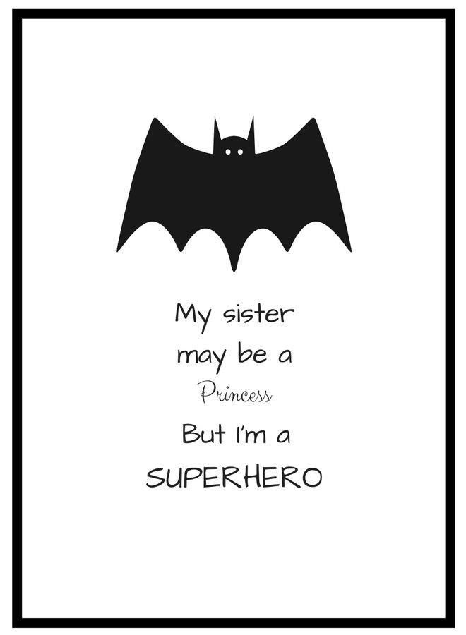 Batman Super Hero Poster