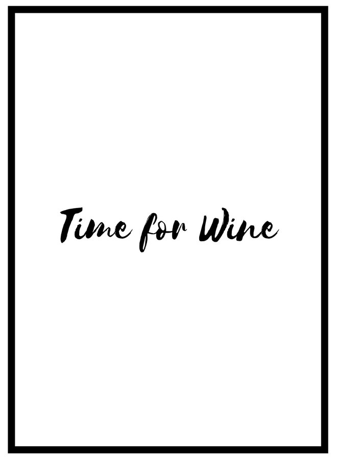 Time for Wine